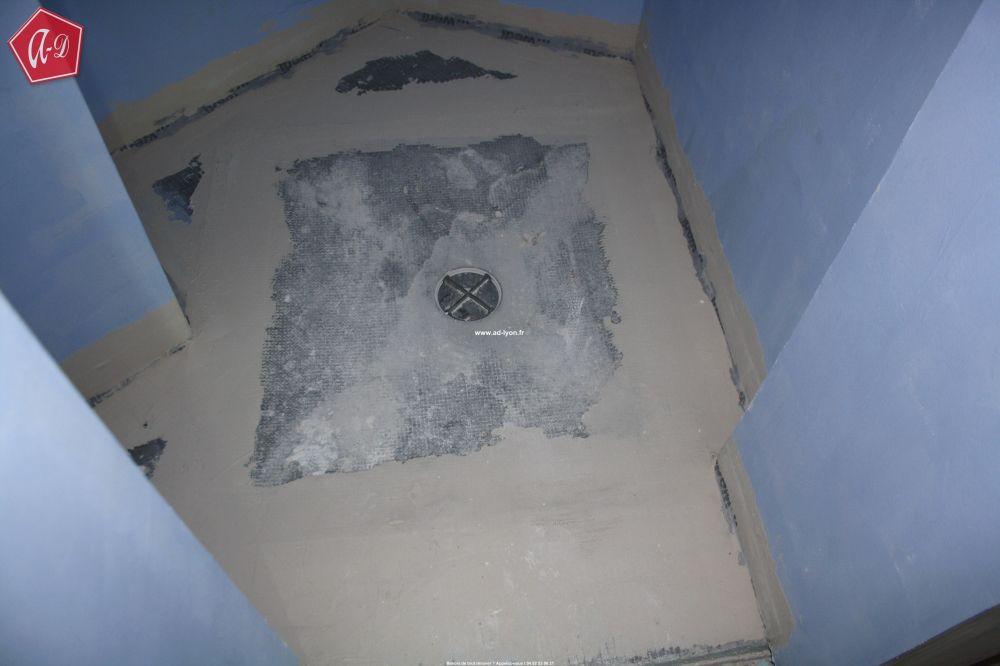 une douche à forme carrée, ronde ou rectangulaire