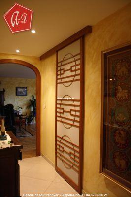 s parer cloisonner d corer avec la porte coulissante japonaise. Black Bedroom Furniture Sets. Home Design Ideas