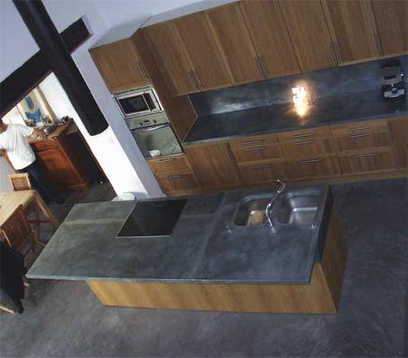 Ad lyon le zinc et plan de travail - Plan de travail en zinc pour cuisine ...