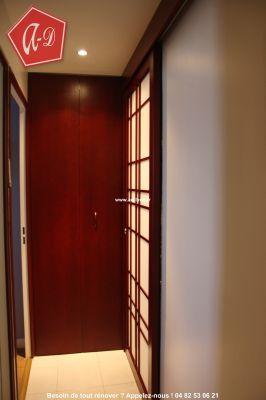 Une porte coulissante en applique vous tes sur du r sultat for Installation d une porte coulissante