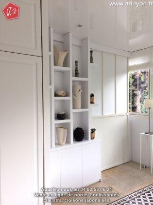 Une cuisine avec cloison coulissante en galandage est tr s pratique - Cloison coulissante suspendue une tendance dans la deco interieure ...