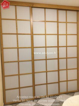 une cloison de s paration d 39 espace japonaise pour une cuisine. Black Bedroom Furniture Sets. Home Design Ideas