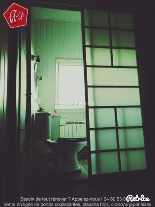Acheter Une Porte Japonaise Chez AD Lyon Cela Se Voit - Porte placard coulissante de plus porte intérieure isolante thermique
