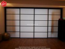 Fabricant de cloisons coulissantes cloison amovible et for Claustra interieur japonais