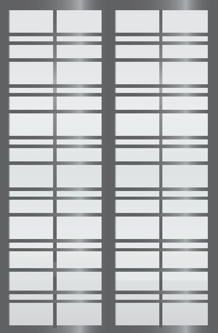 Cloison coulissante japonaise Gogatsu 2 vantaux