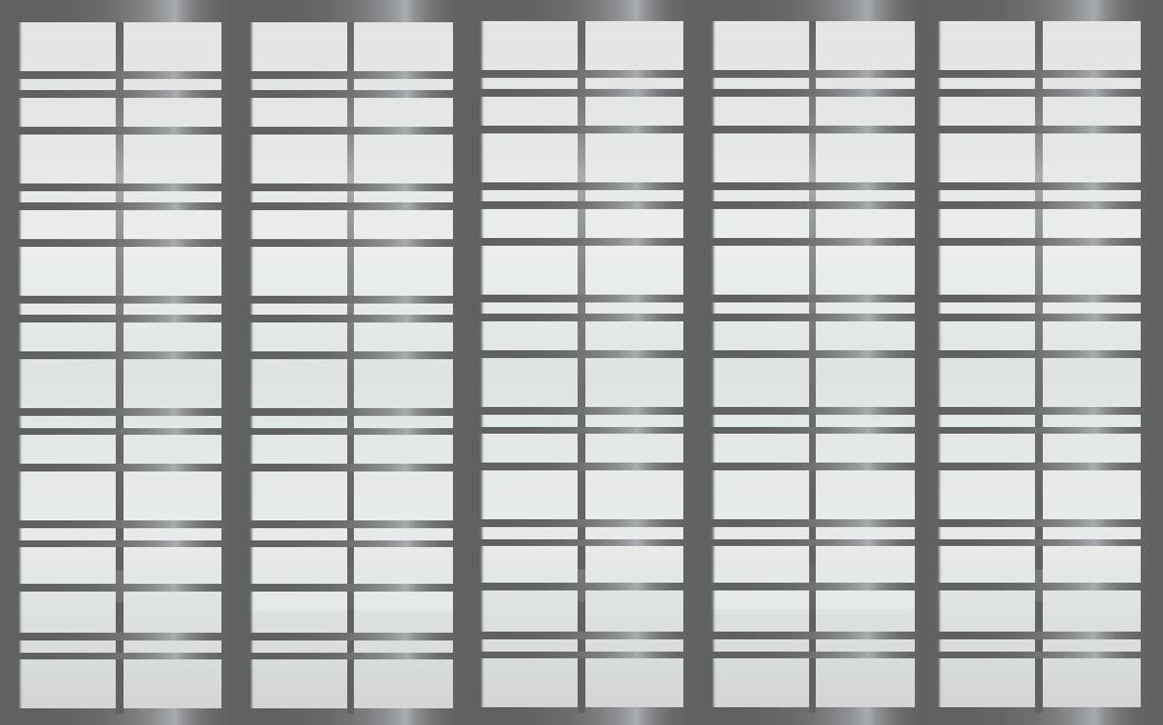Cloison coulissante japonaise Gogatsu 5 vantaux
