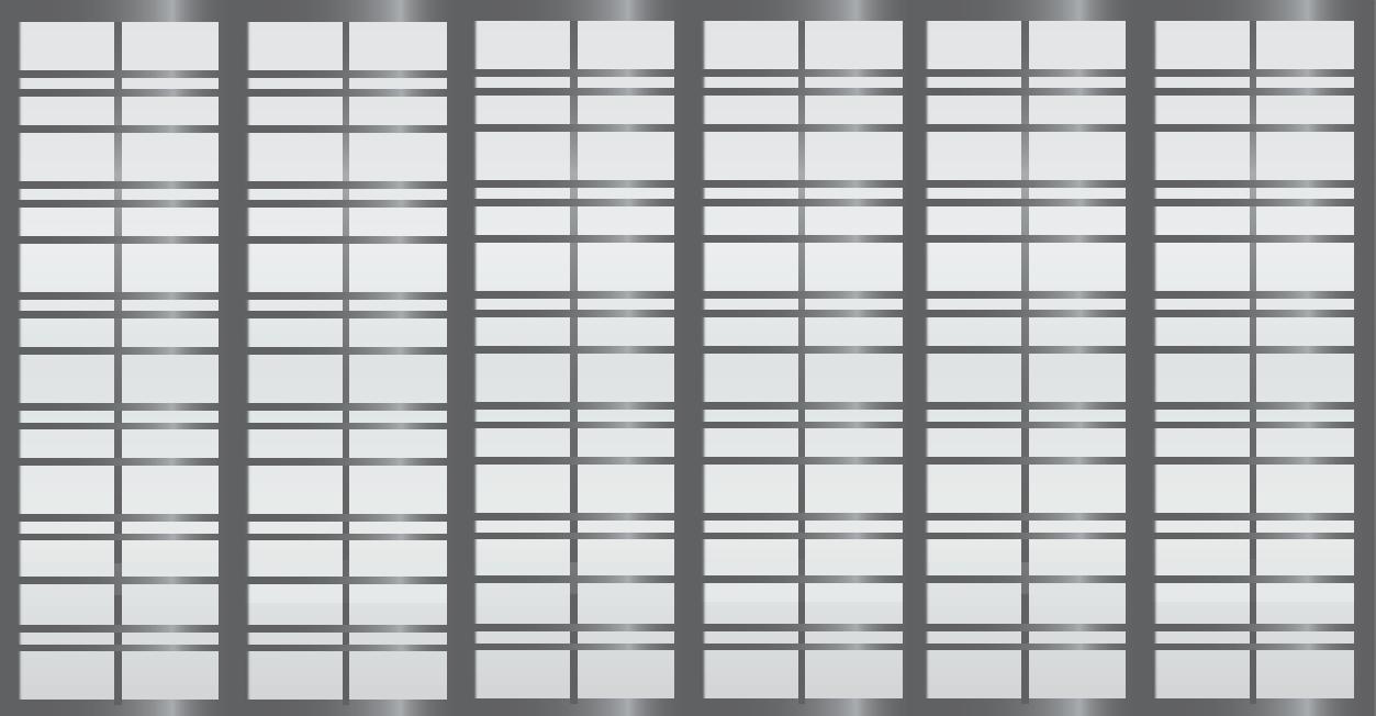 Cloison coulissante japonaise Gogatsu 6 vantaux