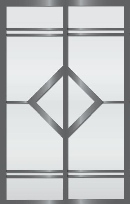 Cloison coulissante japonaise Ichi 2 vantaux
