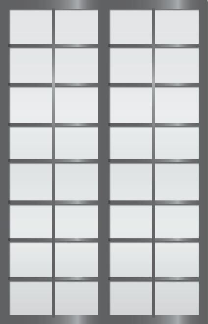 Cloison coulissante japonaise Rokugatsu 2 vantaux