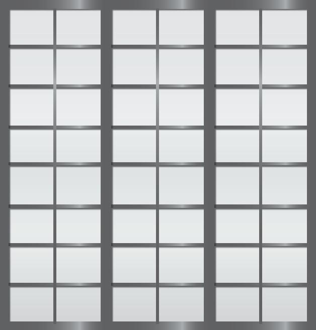 Cloison coulissante japonaise Rokugatsu 3 vantaux