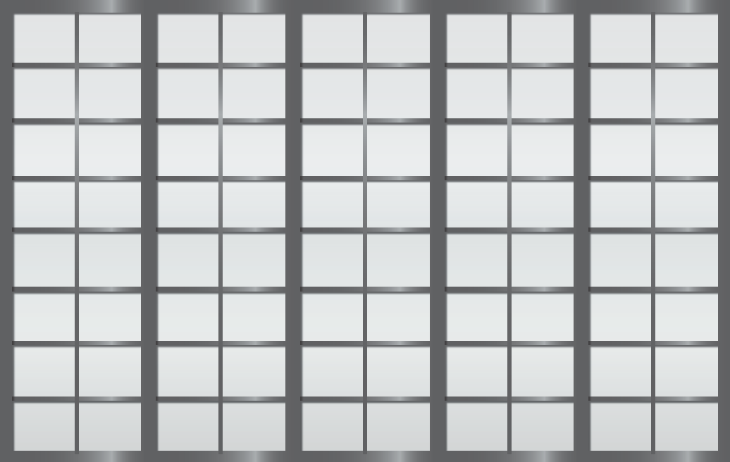 Cloison coulissante japonaise Rokugatsu 5 vantaux
