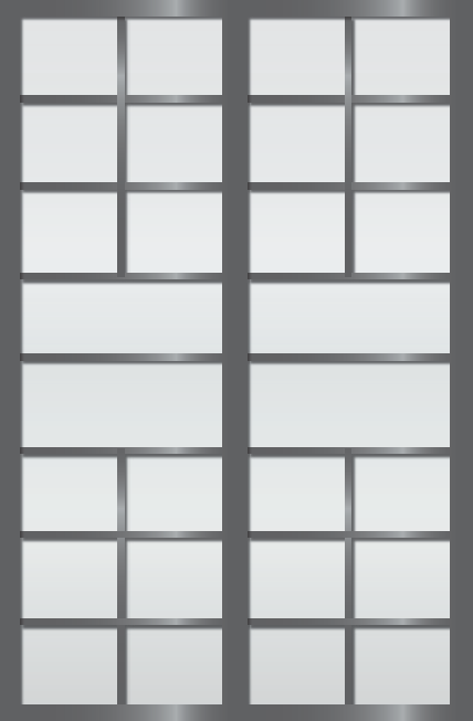 Cloison coulissante japonaise Sangatsu 2 vantaux