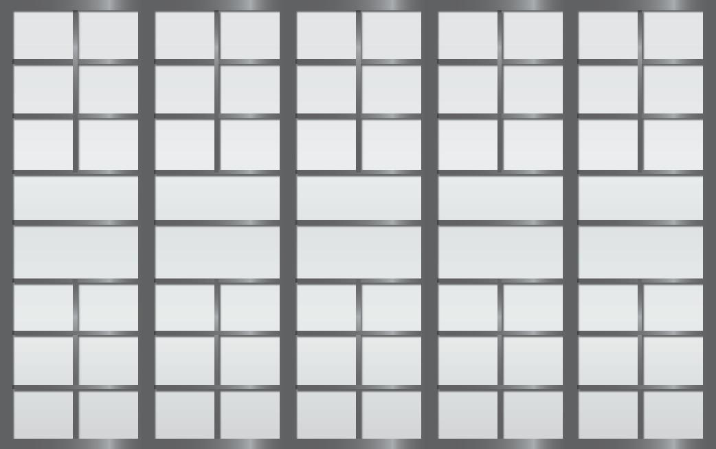 Cloison coulissante japonaise Sangatsu 5 vantaux