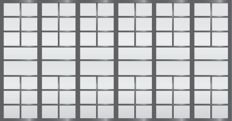 Cloison coulissante japonaise Sangatsu 6 vantaux