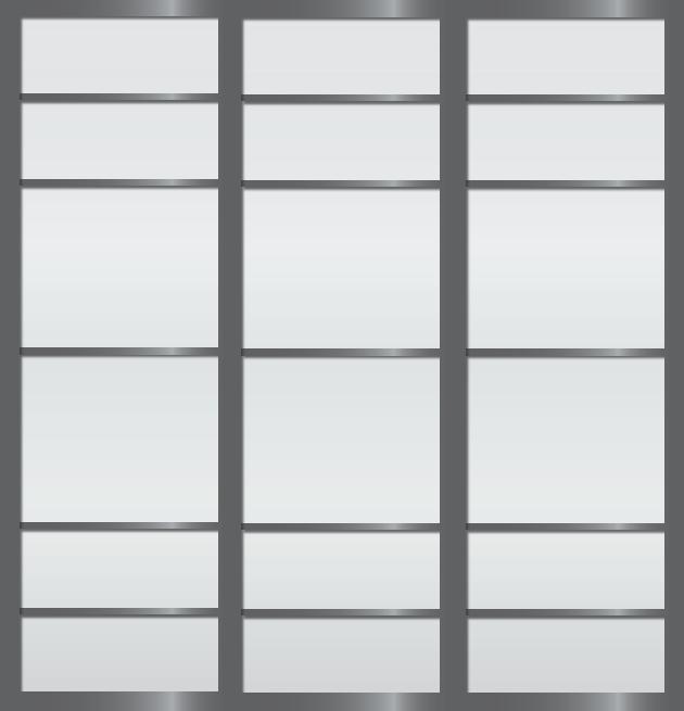 Cloison coulissante japonaise Shichigatsu 3 vantaux