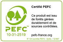 Bois certifié PEFC