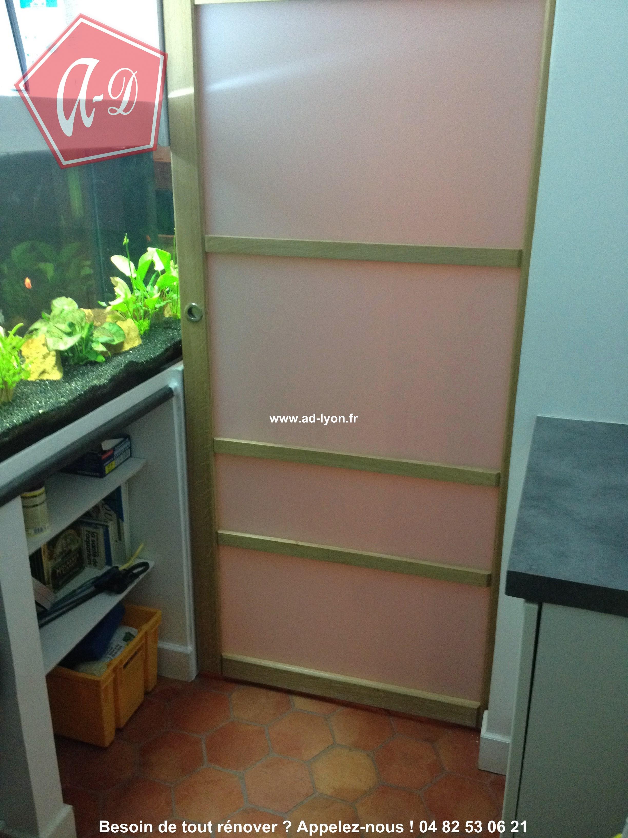 Une porte pratique est discrète