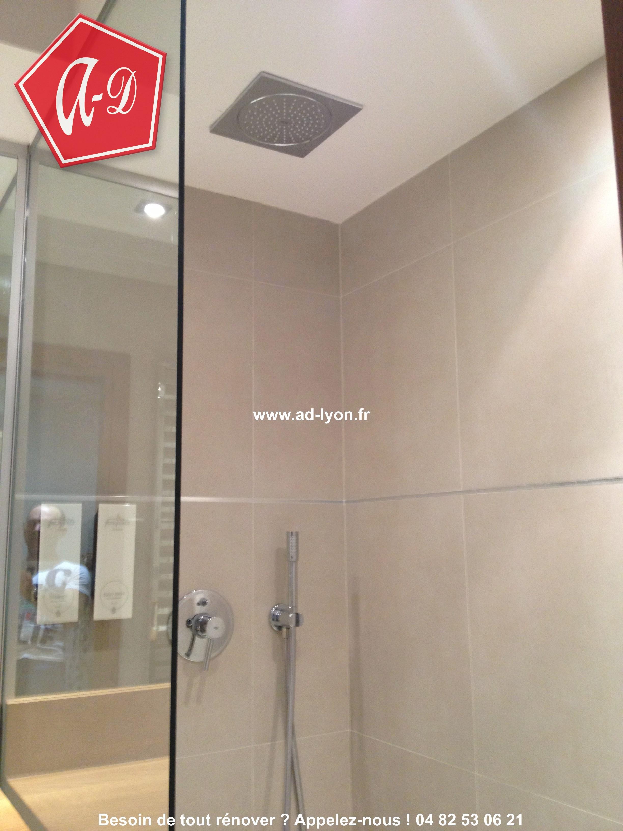 Douche l 39 italienne c 39 est aussi une salle de bain de for Prix salle de bain italienne