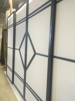 cloison coulissante suspendue japonaise ichi. Black Bedroom Furniture Sets. Home Design Ideas
