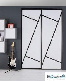 Portes De Placard Nos Modèles De Façades Coulissantes - Porte placard coulissante de plus porte exterieur