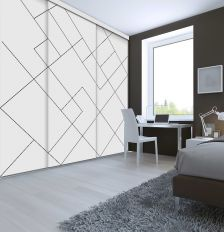 Porte coulissante Collection Geometric