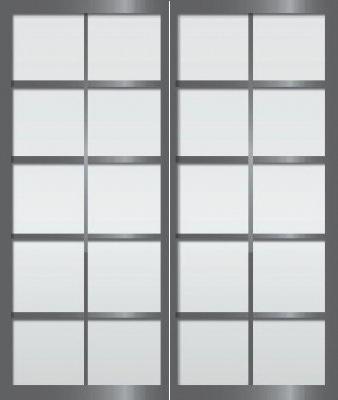 Cloison Coulissante Japonaise En 2 Vantaux Rokugatsu