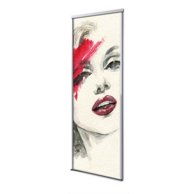 Porte coulissante 1 vantail Marylin