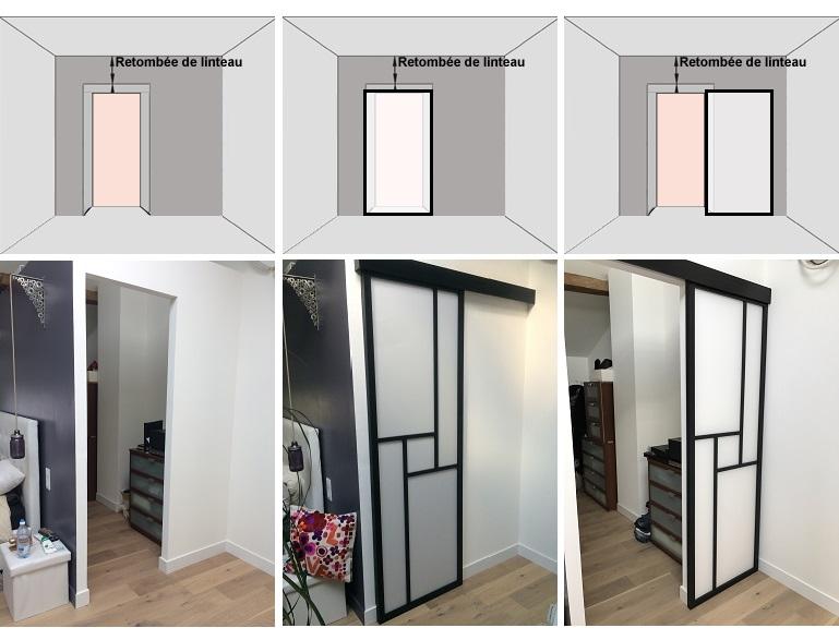 cloison coulissante japonaise en 1 vantail sangatsu. Black Bedroom Furniture Sets. Home Design Ideas