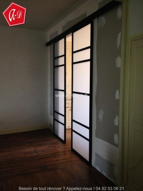 cloison amovible shichigatsu un mod le simple. Black Bedroom Furniture Sets. Home Design Ideas