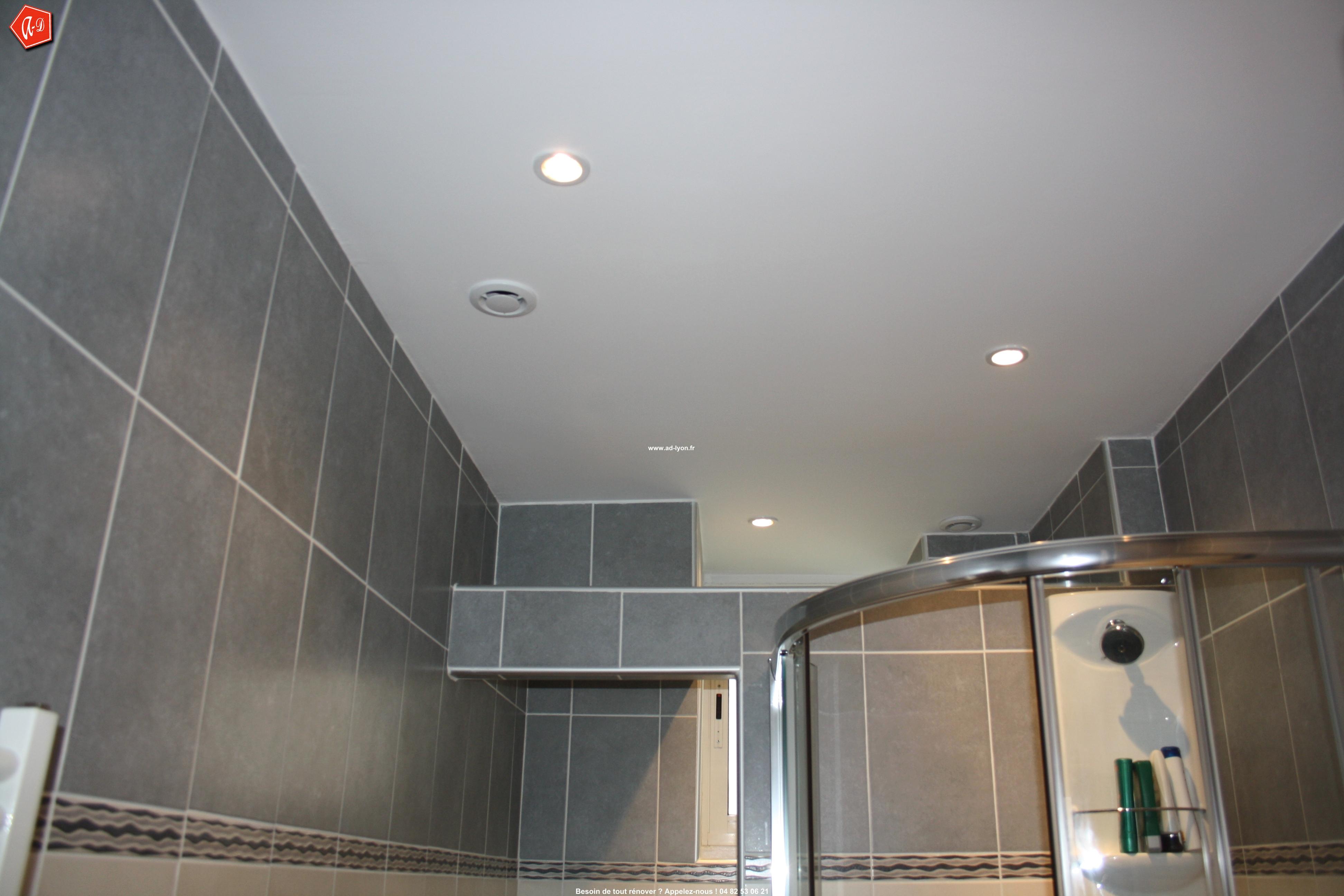 Plaque plafond salle de bain Isolation idées
